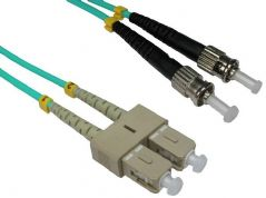 PRO SIGNAL FB3M-STSC-010  Lead Fibre Optic St-Sc 50/125 Om3 1M